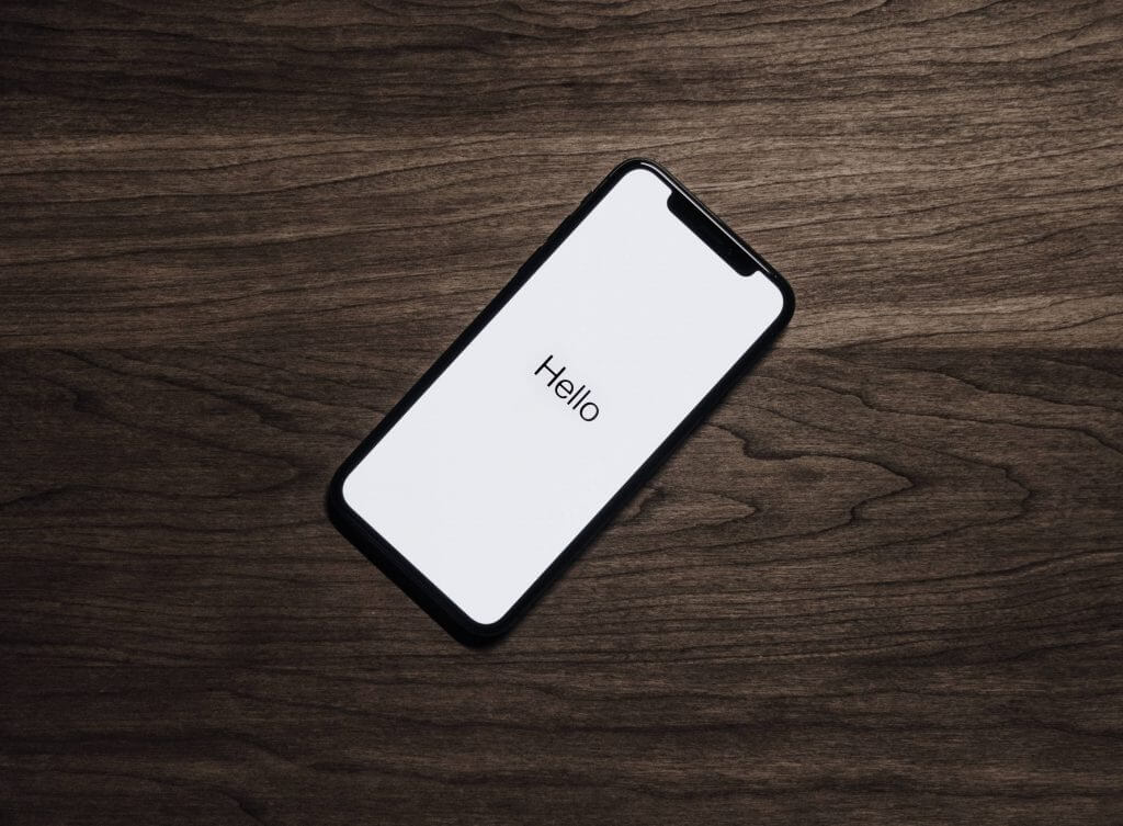 Image of an iPhone.